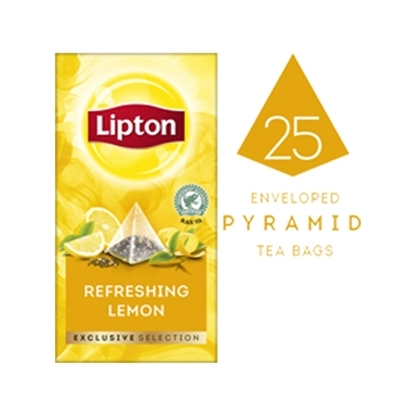 Picture of Lipton Refreshing Lemon (6x25 pyramid tea bags)