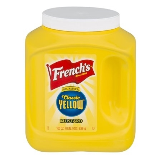 Picture of Frenchs Yellow Mustard  ( 3.775 KG * 4 Gallon )