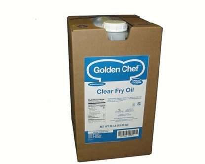 Picture of Golden Chef  Clear Fry Oil ( 15 LITER * 1 TIN)