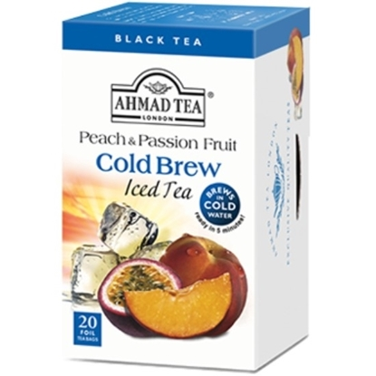 Picture of Ahmad Tea - Cold Brew - Peach&Passion 20x2g