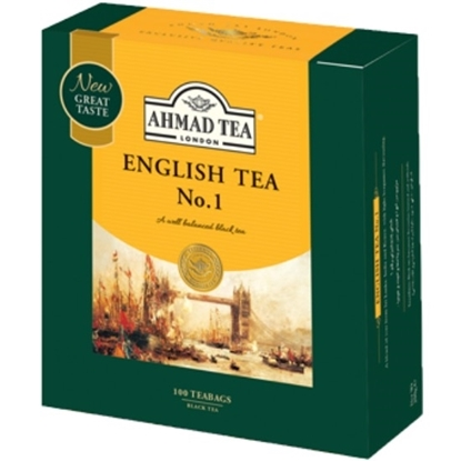Picture of Ahmad Tea - English Tea No.1 - 100*2g