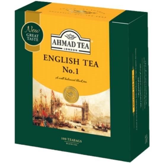 صورة شاي أحمد-شاي إنجليزي رقم1-100فتلة*2جم