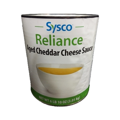 Picture of Sysco Cheddar Cheese Sauce Aged ( 4 Gallon *  5 KG   )