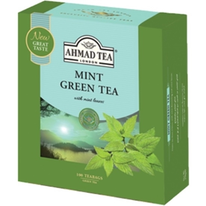 Picture of Ahmad Tea - Mint Green Tea - 100*2g