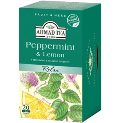 Picture of Ahmad Tea - Peppermint&Lemon-20X1.5g