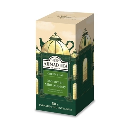Picture of Ahmad Tea - Pyramid Moroccan Mint Majesty 50x2g