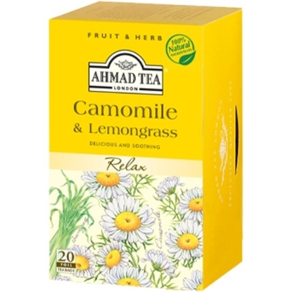 Picture of Ahmad Tea-Camomile&Lemongrass-20X1.5g