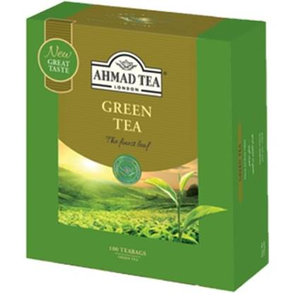 Picture of Ahmad Tea-Green Tea-Pure 100*2g