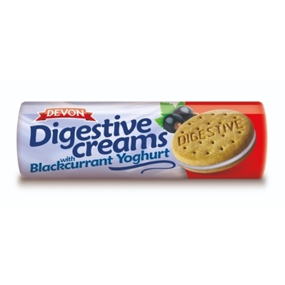 Picture of DEVON DIGESTIVE BLACKCURRANT YOGURT 195G X15