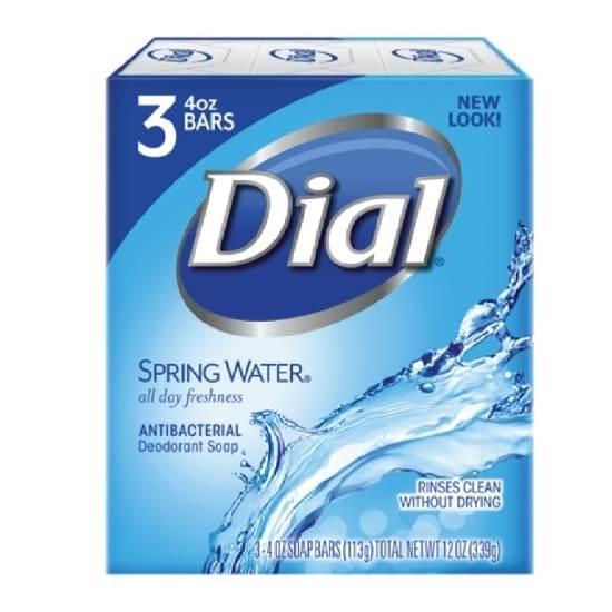 صورة دايل-صابون قطع-مياه الينابيع-113جم*3