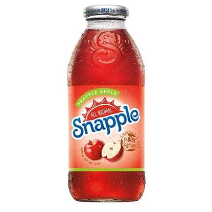 Picture of SNAPPLE APPLE  DRINK 473 ML-4 (3+1 FREE)