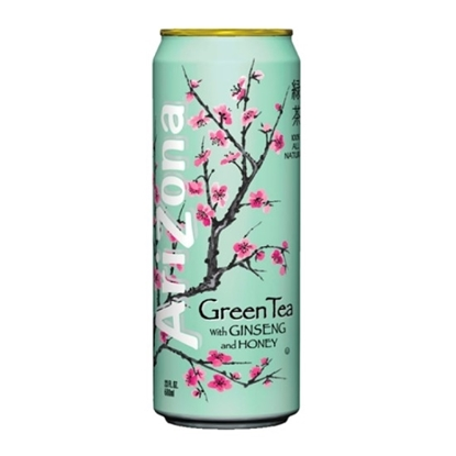 Picture of Arizona Can Green Tea with Ginseng&Honey 340ml