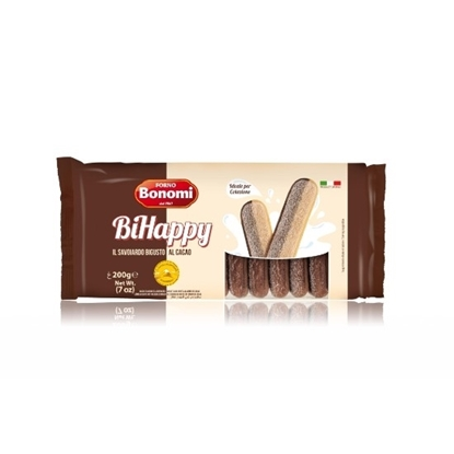 Picture of Bonomi  Lady Fingers Vanilla & Choco 200g