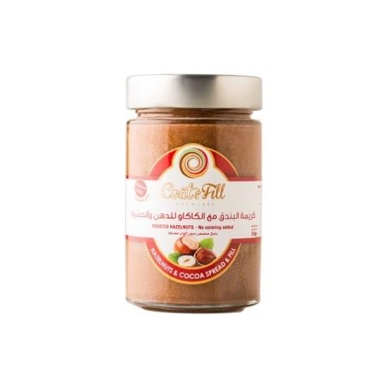 Picture of COAT & FILL Fresh Hazelnuts Spread & Fill 240gr