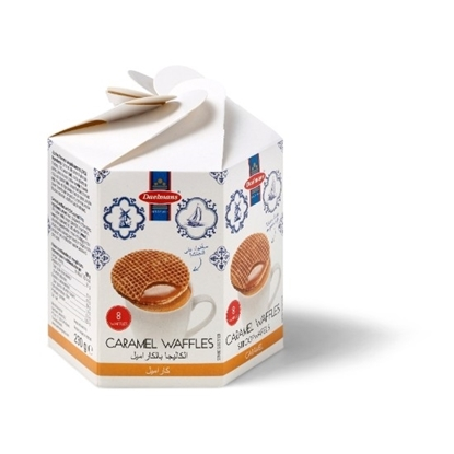 Picture of Dutch Delight Caramel Waffles (Hexagonal Box)