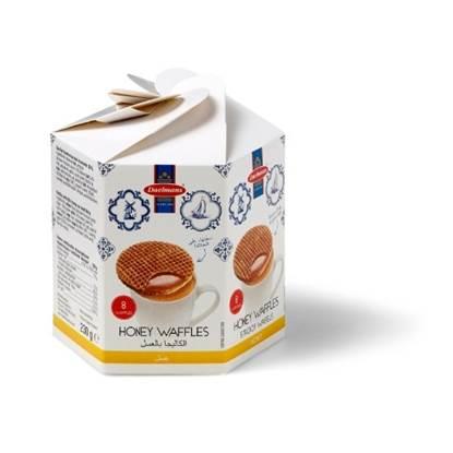 Picture of DAELMANS Waffles Honey Box 230g
