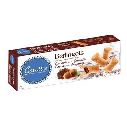 Picture of Wafers Bites Filled with Cocoa  and Hazelnut 90g