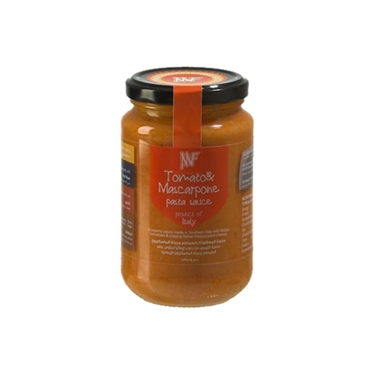 الصورة: صلصة معكرونة طماطم وجبنة ماسكربونى350غم MF