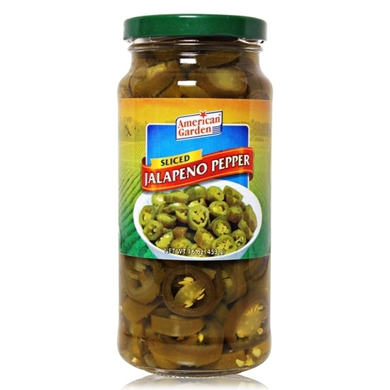 Picture of American Jalapenos Sliced  (3.780 KG  )