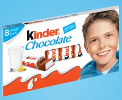 Picture of Kinder Chocolate T8