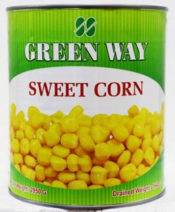 Picture of Greenway Sweet Kernel Corn In Brine  ( 1 Tin * 3 KG )