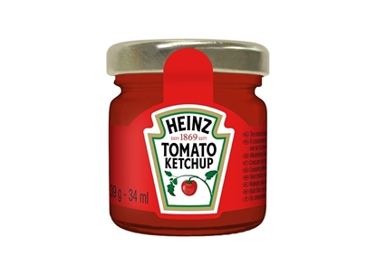 Picture of Heinz Room Service Ketchup ( 60 Jar * 64 GM  )