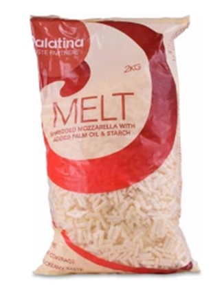 Picture of Palatina Melt Shredded Mozzarella (2000 GM * 6 Pieces )