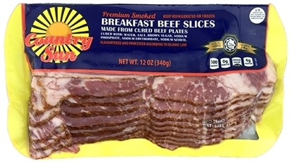 Picture of Country Sun Turkey Breakfast Slice- ( 10 Pieces * 1000 GM )