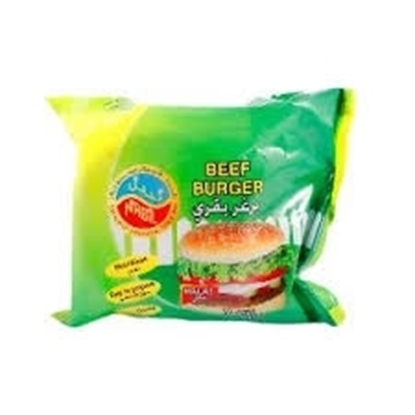 Picture of Nabil Gourmet Beef Burger One Piece 4 OZ ( 10 Pieces * 1000 GM )