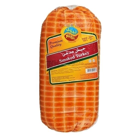 Picture of Nabil Turkey Thigh Smoked Roll (Ham) ( 12 Pieces * 500 GM )