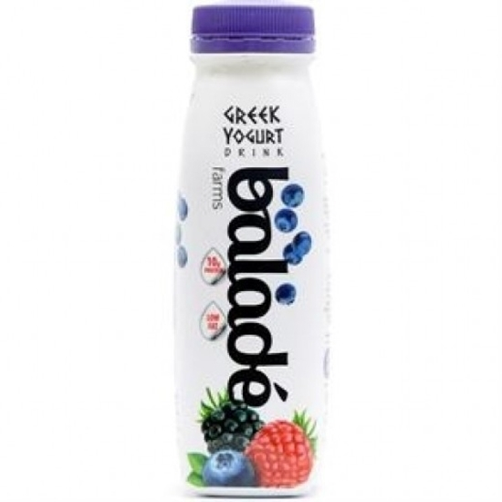 Picture of Balade Fresh Drink Greek Yoghurt-d- Mix Berries ( 24 Pieces *  225 ML )