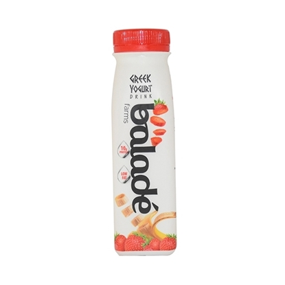 Picture of Balade Drink Greek Yoghurt-d- Banana & Strawberry ( 24 Pieces *  225 ML )