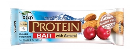 Picture of Orgran Oskary Gluten Free Protein Bar W / Cashew & Cranberry   ( 8 Pieces *  53 GM   )
