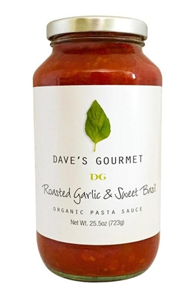 Picture of DG Organic Roasted Garlic&Sweet Basil (25.5 X 6