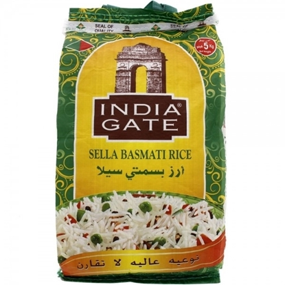 Picture of India Gate Yellow Rice Sella ( 5 KG * 4 Bag )
