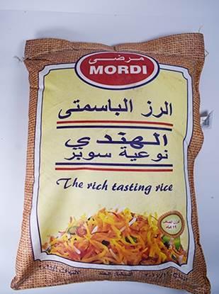 Picture of Mordi Basmati Rice ( 19 KG *  1 Bag )