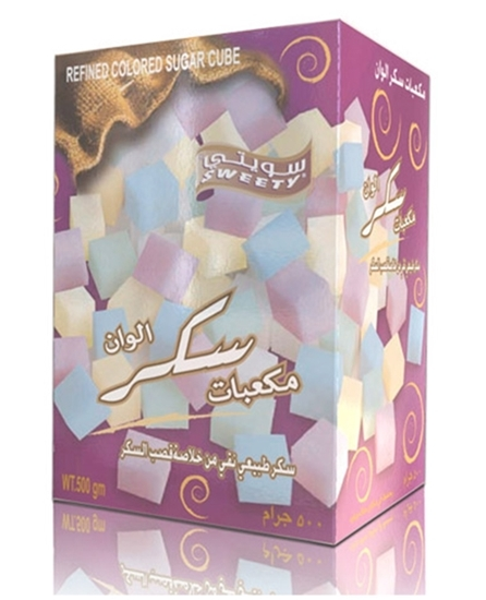 Picture of Sweety Sugar Cube Colors ( 500 GM * 24 Box )