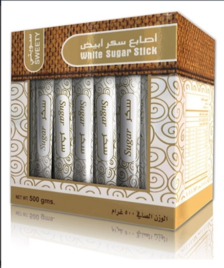 Picture of Sweety Sugar White Fingers coated  ( 500 GM * 24 Box )