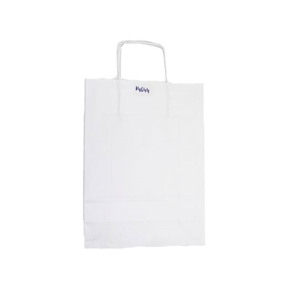 Picture of Paper Bag WHT PLAIN 25X33X10 400BAGS