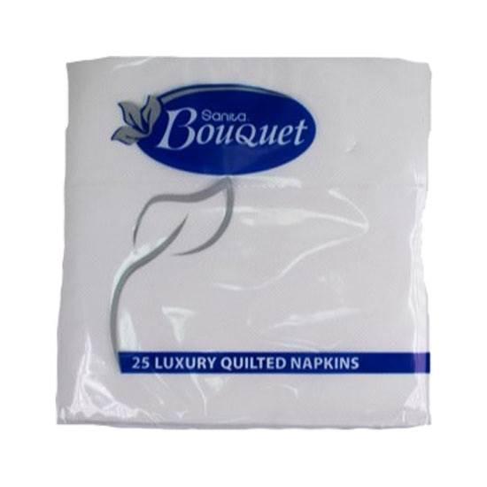 Picture of Sanita Bouquet Napkins Luxury 33x33 White