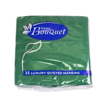 Picture of Sanita Bouquet Napkins Luxury 40x40 Green