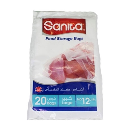 Picture of Sanita Food Storage Bag NO.12 (20 bags x 30 pkts)