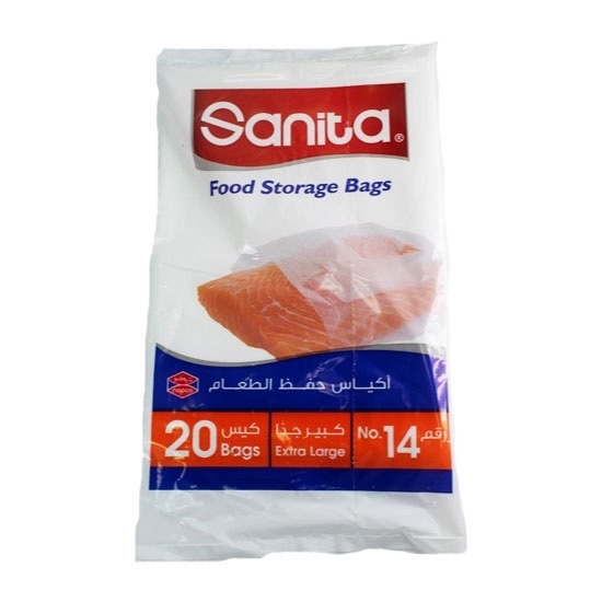Picture of Sanita Food Storage Bag NO.14 (20 bags x 25 pkts)