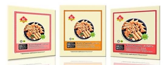 صورة عجينة صينية 190 × 190 ماليزى ( 500 جم * 20 صندوق)