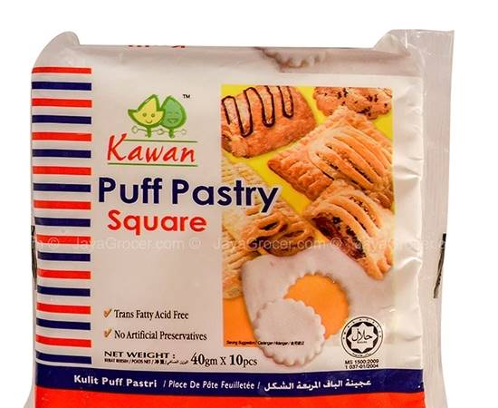 Picture of Kawan Puff Pastry Square ( 18 Box* 400 GM )