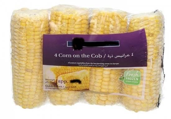 Picture of Hay Market Corn On Cobb  4 Pcs( 1 kg * 12 Pouch )