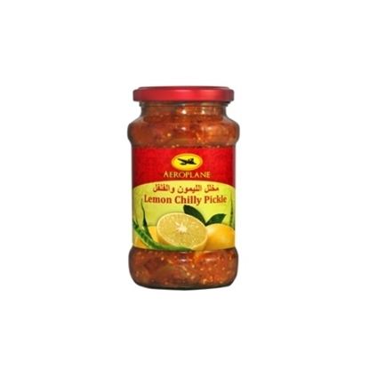 Picture of Aeroplane Lemon Chilli Pickle-400GM*12