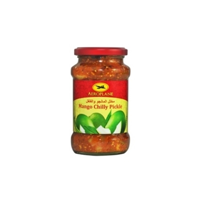 Picture of Aeroplane Mango Chilli Pickle-400GM*12