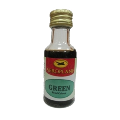 Picture of Aeroplane Food Colour- Green 28ML*12