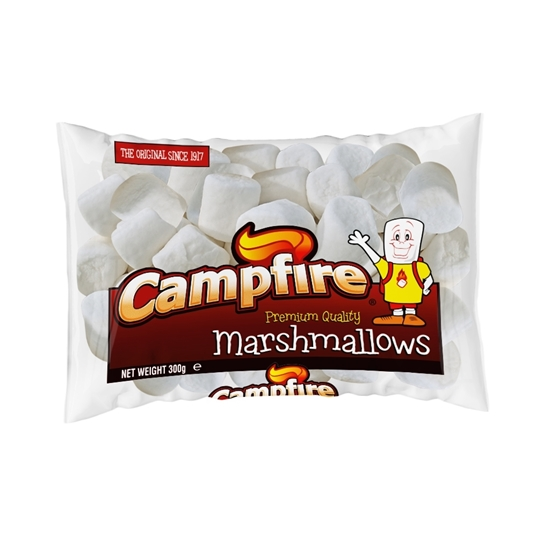 Picture of Campfire Regular White Marshmallow (300 G X 12 Pouch)